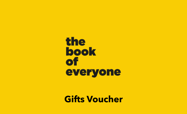 The Book Of Everyone Gift Gift Card UK