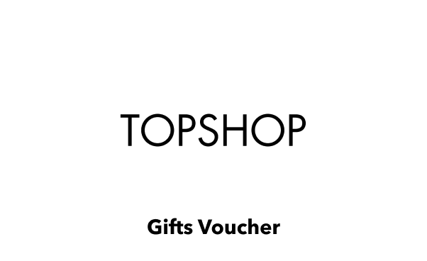 Topshop Gift Card UK